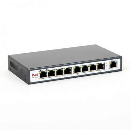 8LEVEL FEPS-1908 Switch POE 9xRJ45 10/100 Mbps 8xPOE